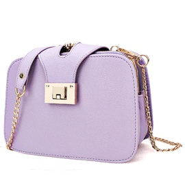 Ericdress Multi-layer Candy Color Crossbody Bag