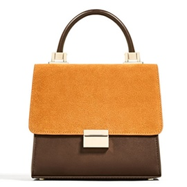 Ericdress Color Block Plain Pattern Handbag