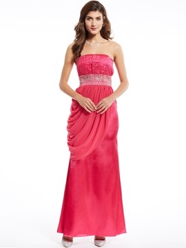 Ericdress Strapless Mantel Sicke Lace Abendkleid