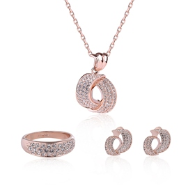 Ericdress Diamante Necklace Wedding Jewelry Sets