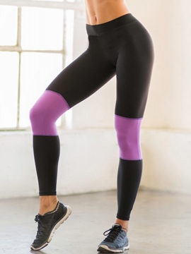 Ericdress Color Block Sports Leggings Pants