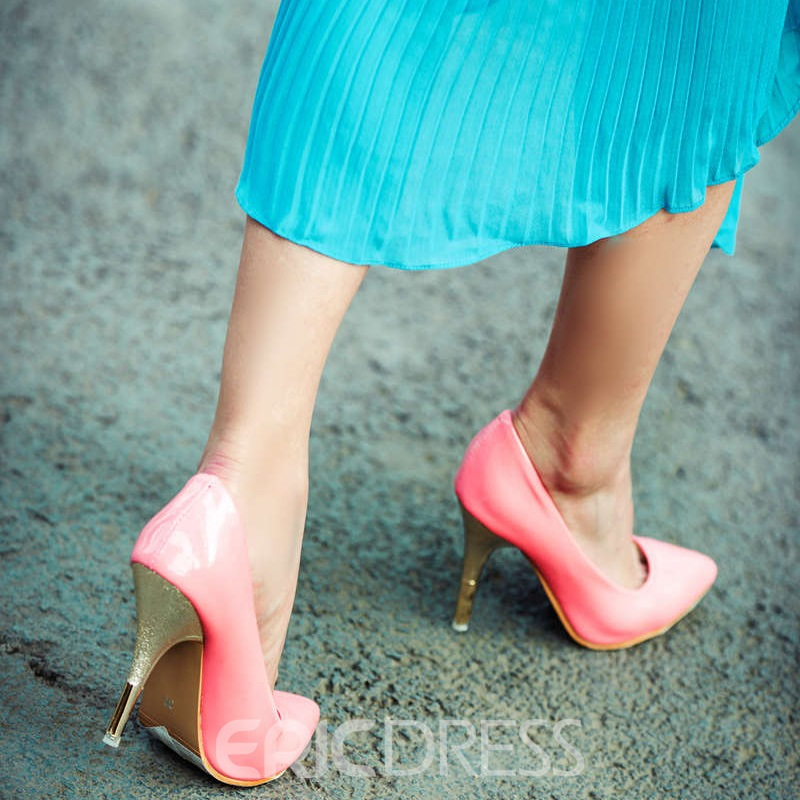 Ericdress Charming Lady Point Toe Stiletto Heel Pumps