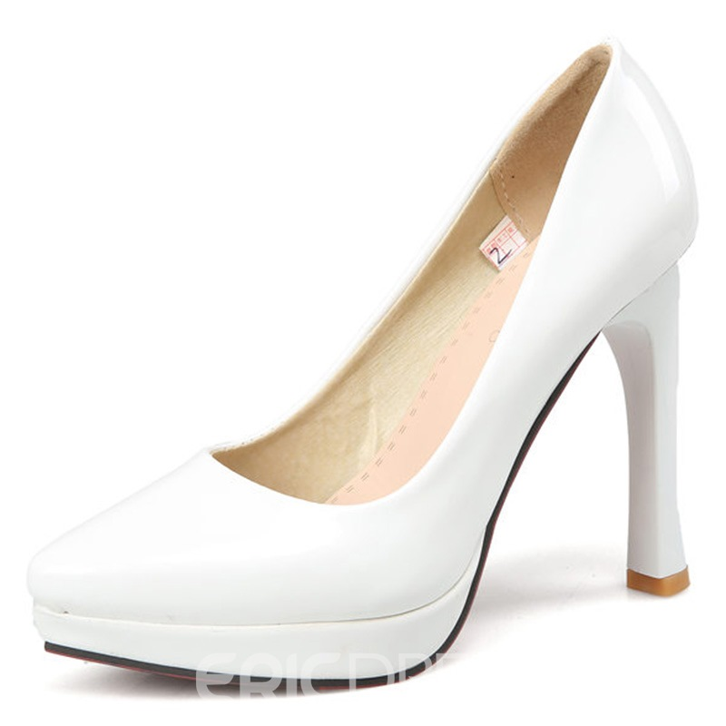 Ericdress Elegant Patent Leather Pumps