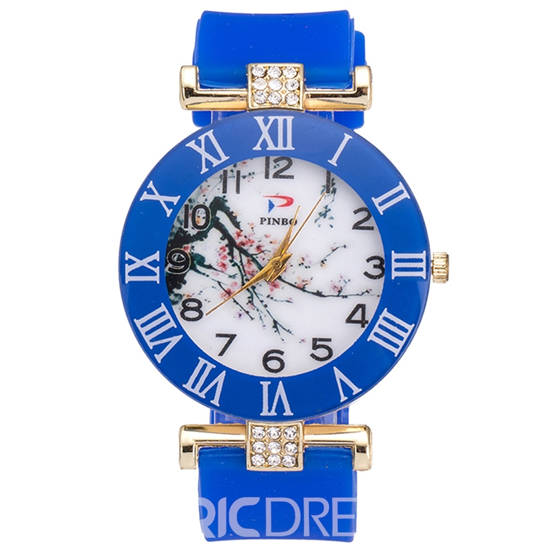Ericdress Chinese Style Diamante Women's Watch