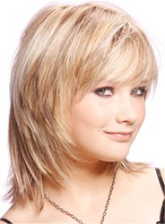 Ericdress Cute Short Layered Blonde Haircut Synthetic Hair Capless Wigs 10 Inches фото