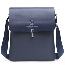 Ericdress European Solid Color Business Men's Crossbody Bag
