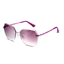 Ericdress Graced HD Resin Lens Rimless Women's Sunglasses