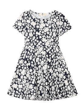 Ericdress Floral Mid-Waist A-Line Summer Dress