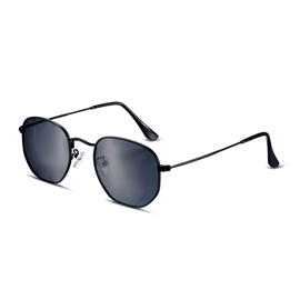 Ericdress Full Frame TAC Round Lenses Men's Polarized Sunglasses