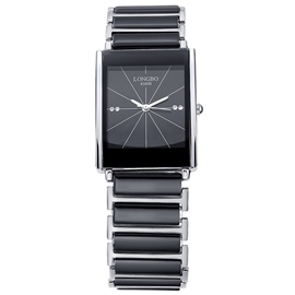 Ericdress Casual Square Case Ceramic Men's Watch