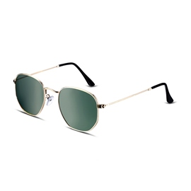 Ericdress Round Full Frame Polarized Sunglasses