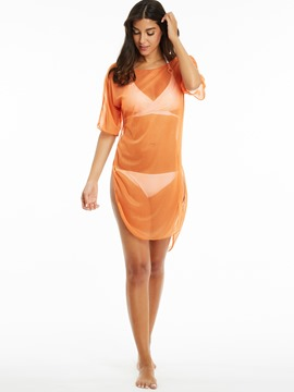 Ericdress See-Through Knee-Length Cover-up