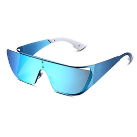 Ericdress Unique Style Blue Lens Polarized Sunglasses