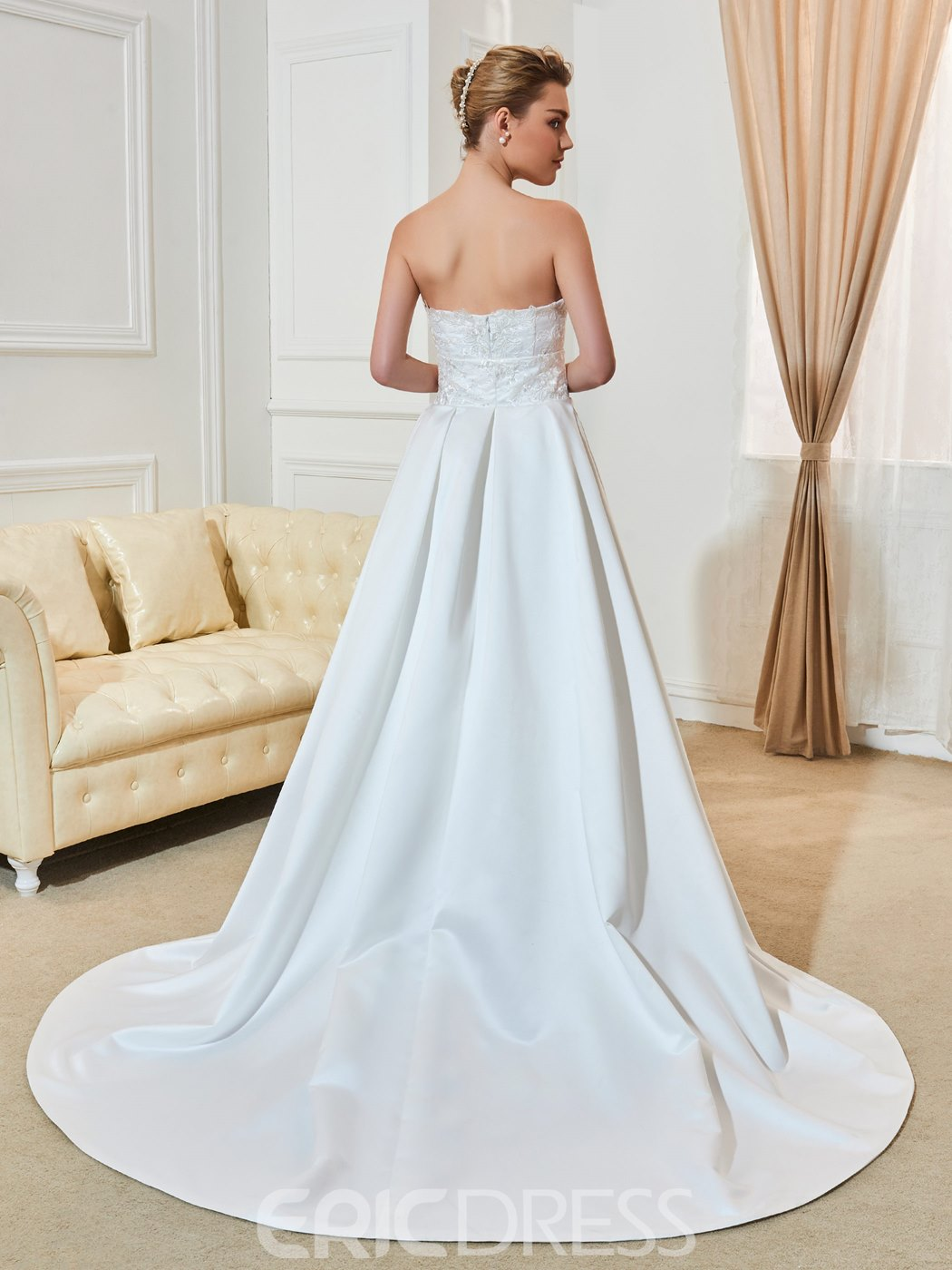 Ericdress High Quality Appliques Lace Sweetheart A Line Wedding Dress