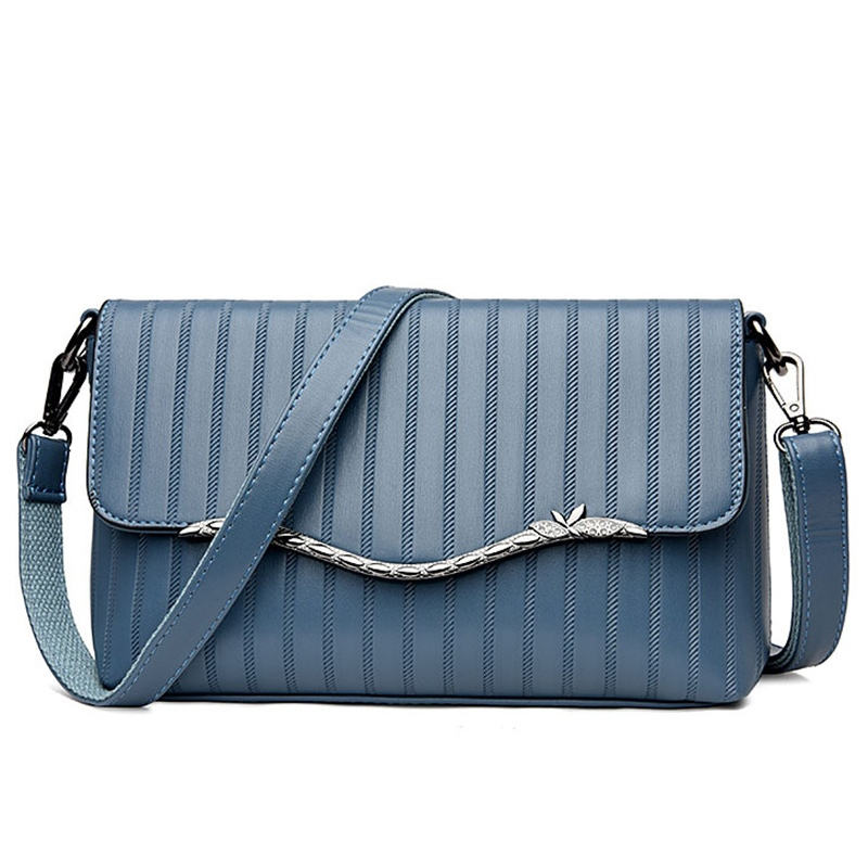Ericdress Light Stripe Embossing Shoulder Bag