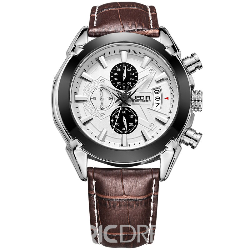 Ericdress JYY Casual Quartz Wrist Watch for Men