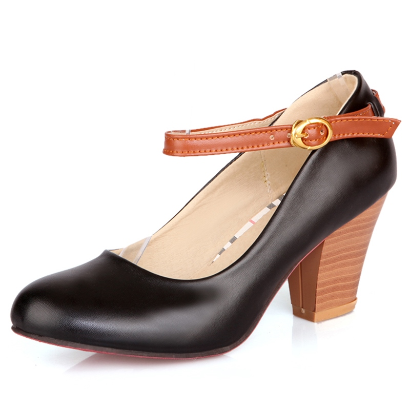 Ericdress Pretty Round Toe Pumps