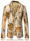 Ericdress Tiger Stripe Print Vogue Gentlemen's Blazer