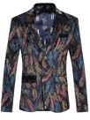 Ericdress Unique Gentle Print Men's Blazer