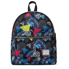 Ericdress Geometric Leaves Print Polyester Backpack