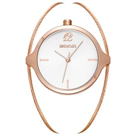 Ericdress Fashion Personality Steel Wire Band Women's Watch