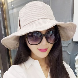Ericdress Outdoor Casual Wide Brim Cotton Foldable Hat