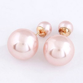 Brilliant All-matched Pearl Alloy Women Earrings