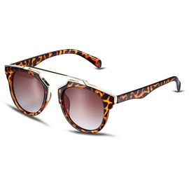 Ericdress Vogue Leopard Printed Frame Resin Polarized Sunglasses