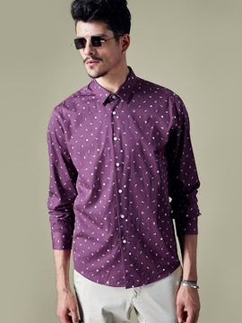 Ericdress Print Loose Casual Quality Men's Shirt