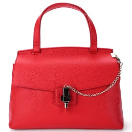 Ericdress European Style Lipstick Decoration Lock Handbag
