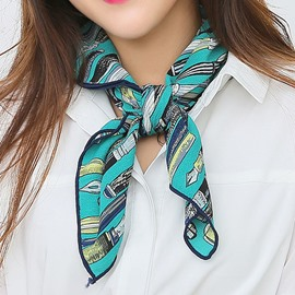 Ericdress Polyester Printed Square OL Style Scarf