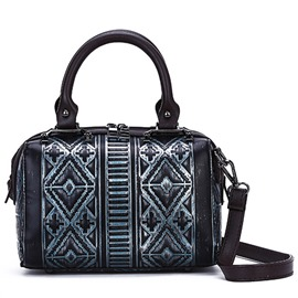 Ericdress Stylish Geometric Alligator Pattern Handbag