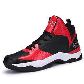 Ericdress PU Color Block High Top Men's Athletic Shoes