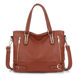 Ericdress European Pure Color Motorcycle Handbag
