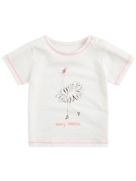 Ericdress Summer Animal Printed Girls T-Shirt