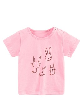 Ericdress Cartoon Scoop Summer Girls T-Shirt