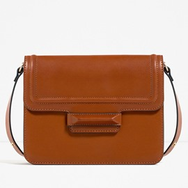Ericdress Casual Flap Pocket Crossbody Bag