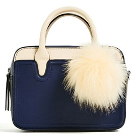 Ericdress Metropolitan Fuzzy Ball Decorated Handbag