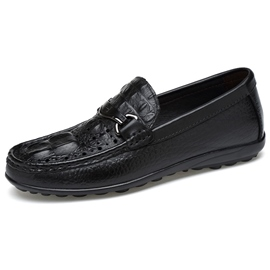 Ericdress Croco Men's Moccasin Gommino