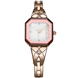 Ericdress Diamante Scale Design Women's Bracelet Watch