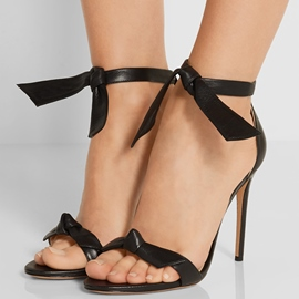 Ericdress Concise Bowtie Open Toe Stiletto Sandals