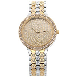 Ericdress Fully-Jewelled Round Watch for Women