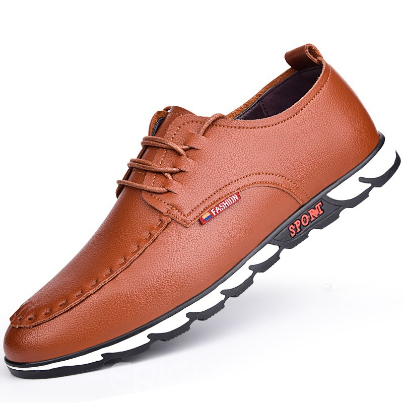 Ericdress Fashion Plain Antiskid Mens Oxfords