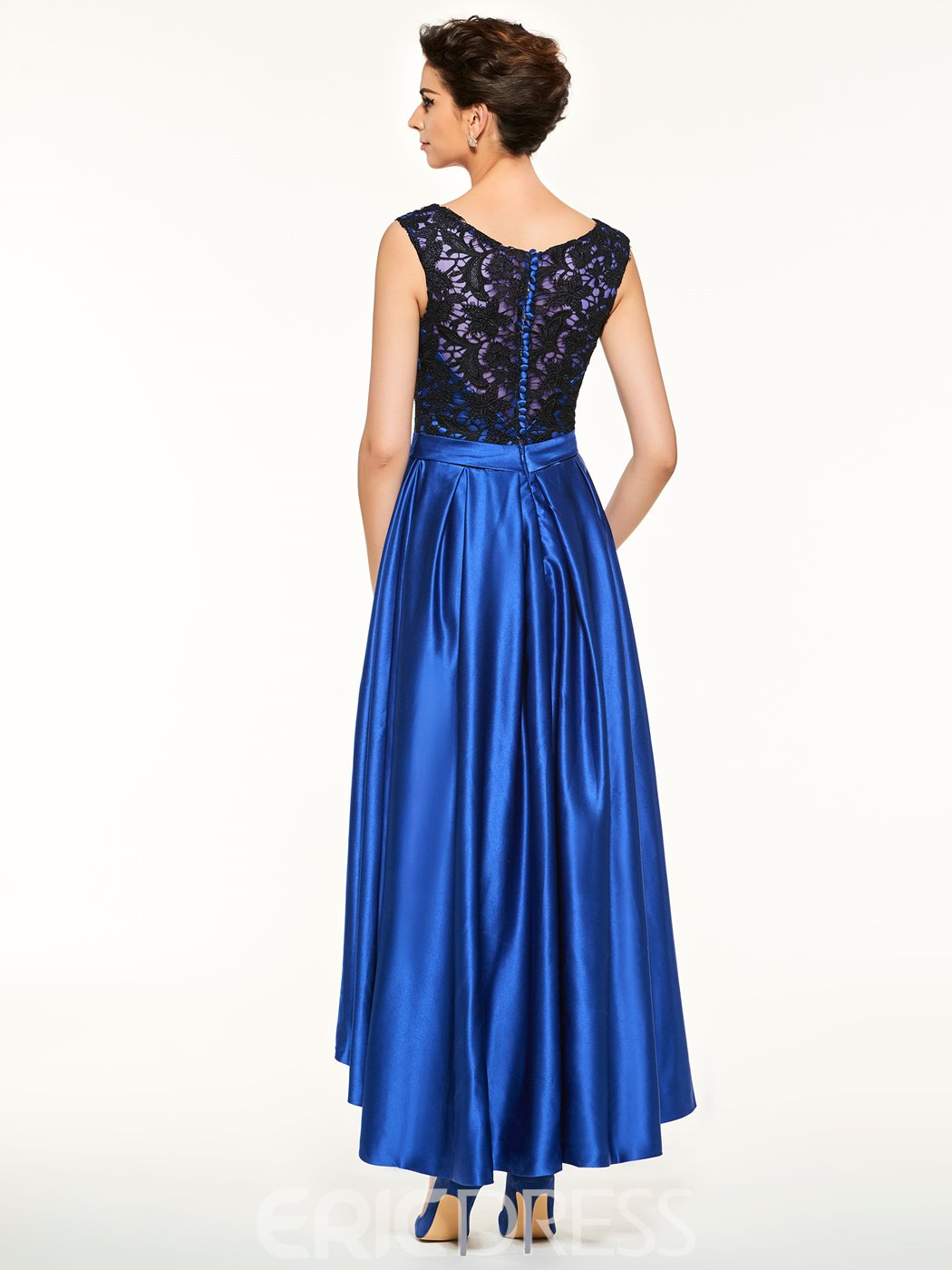 Ericdress Scoop Lace Asymmetry A Line Mother Of The Bride Dress