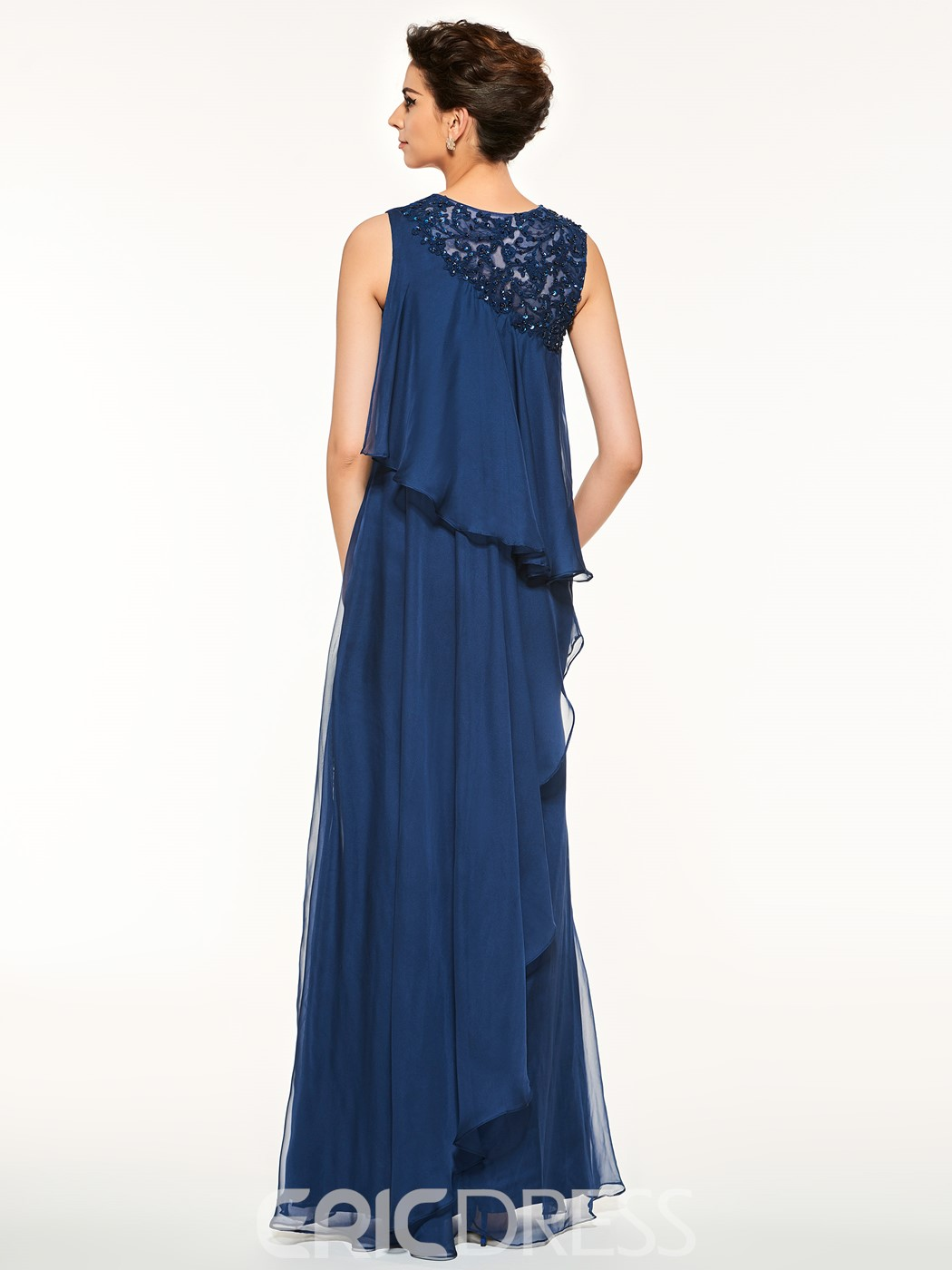 Ericdress Fancy Jewel Appliques A Line Mother Of The Bride Dress