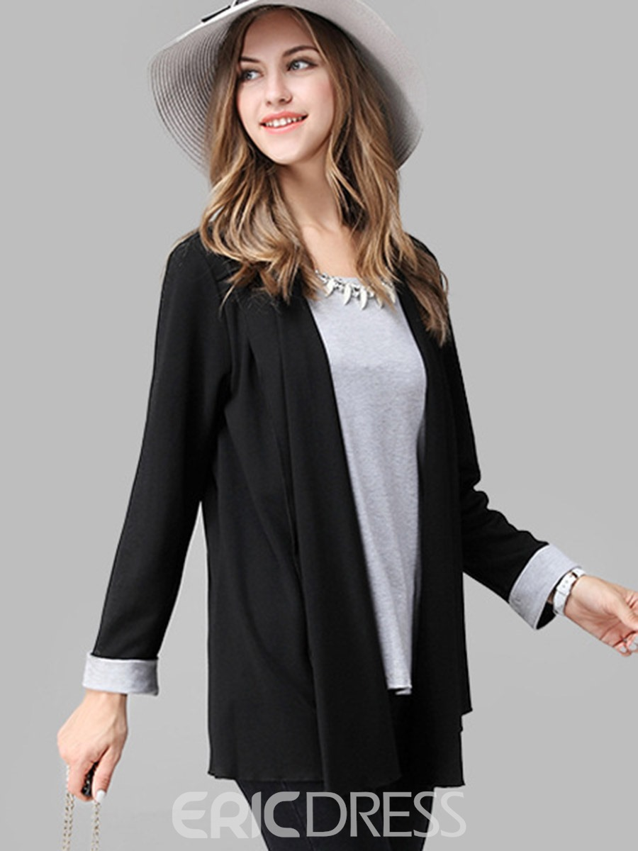 Ericdress Loose Plus Size Blazer