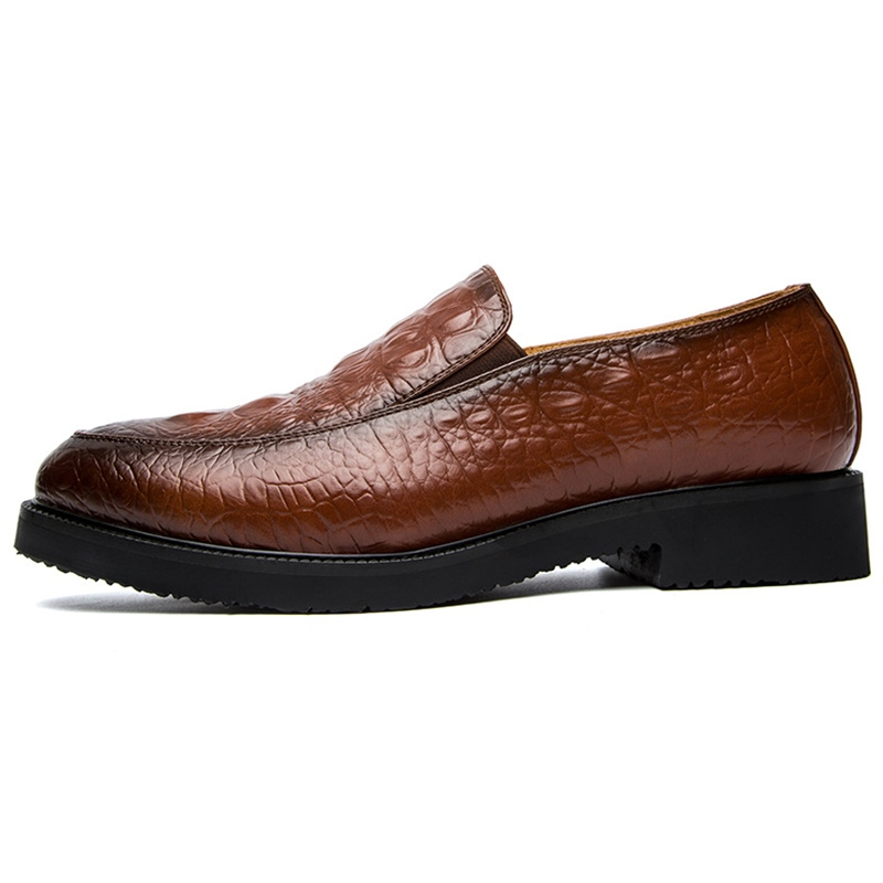 Ericdress Chic Croco Slip on Men's Oxfords