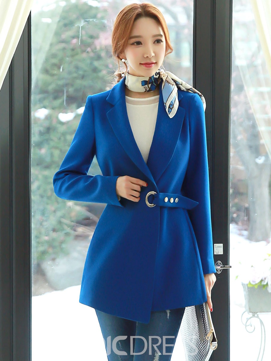 Ericdress Solid Color Elegant Slim Blazer