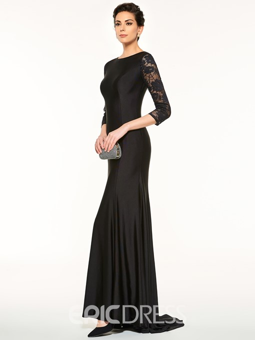 Ericdress Half Sleeves Lace Sheath Mother Of The Bride Dress