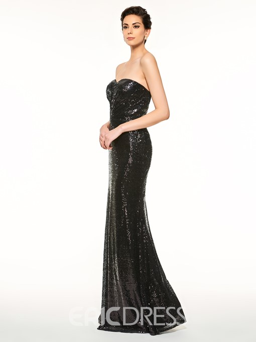 Ericdress Sweetheart Sequins Sheath Mother Of The Bride Dress